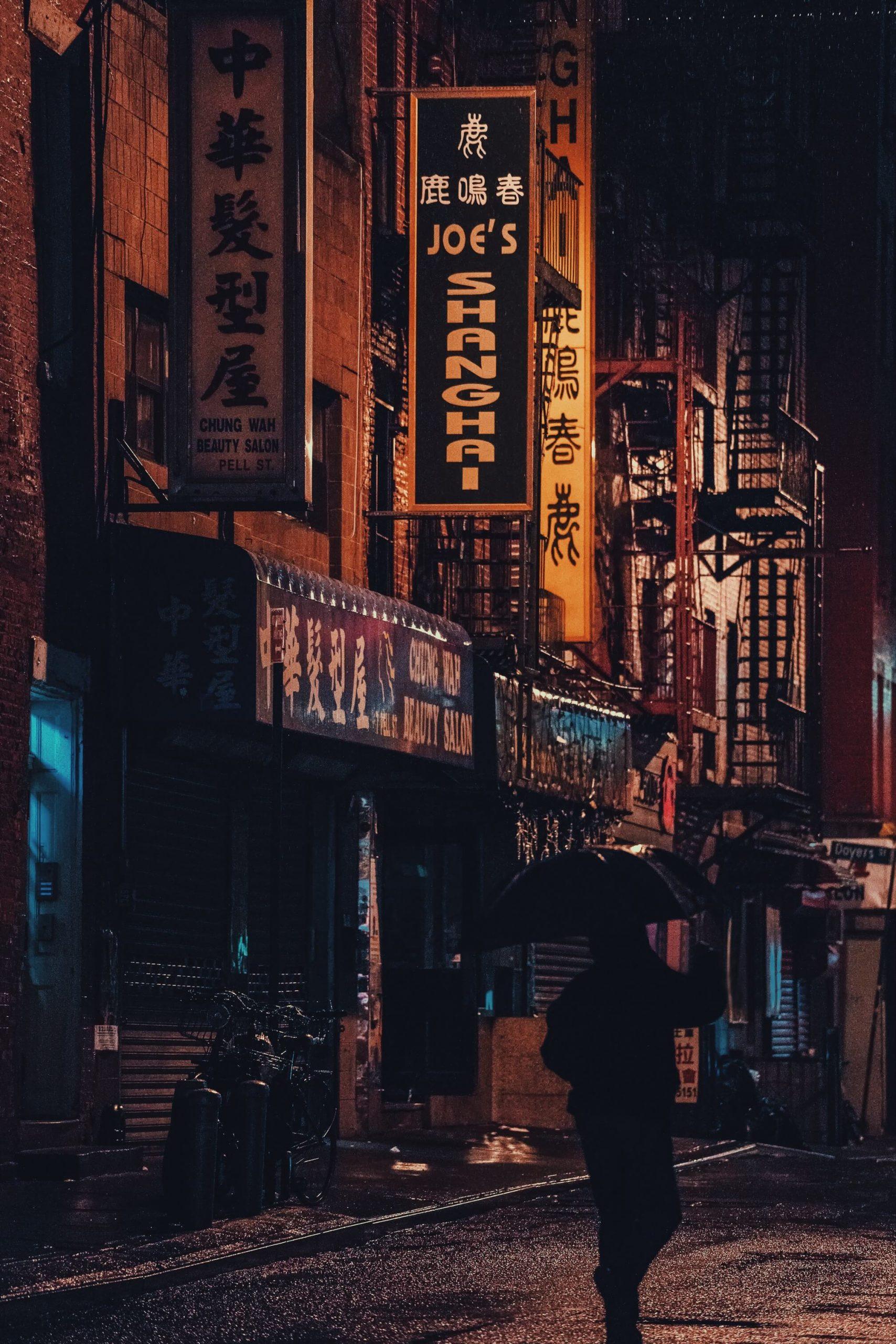 New York City Chinatown Giorgio Camozzi