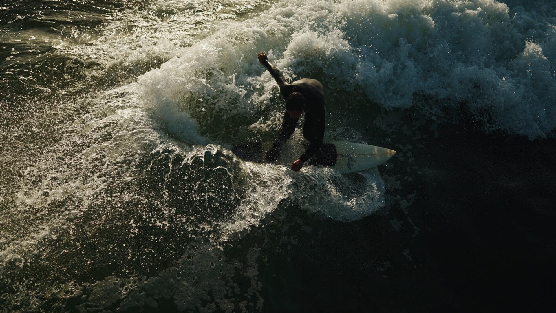Surfer in Pismo Beach I